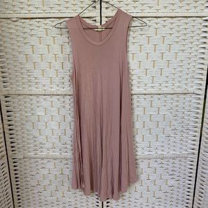 Urban Outfitters Dusty Rose Trapeze Dress